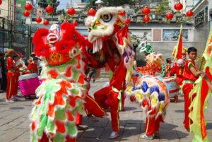 A TET - holdújév - ünneplése Vietnam -ban.